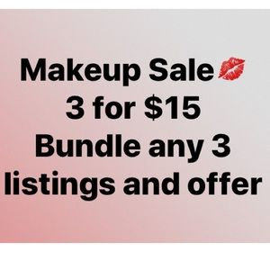 Add any 3 listings to a bundle and offer $15!